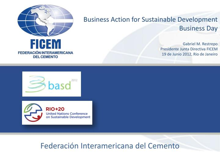 Business Action for Sustainable Development
