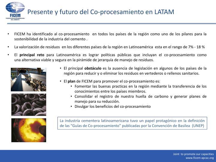 Presente y futuro del Co-procesamiento en LATAM