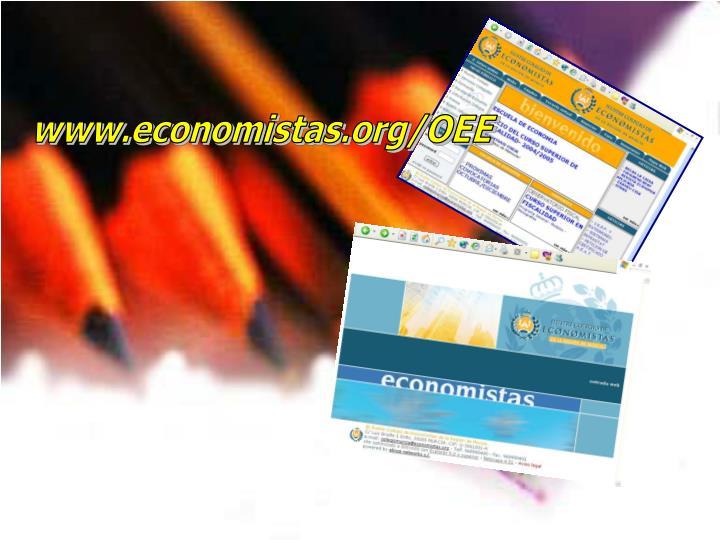 www.economistas.org/OEE