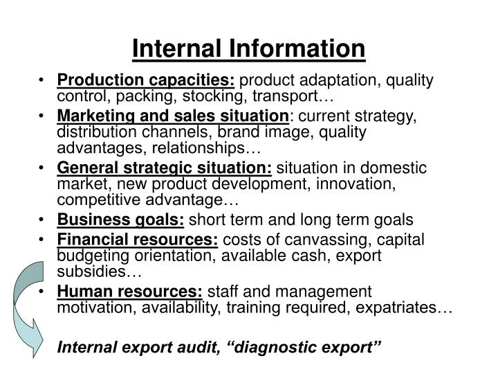 Internal Information