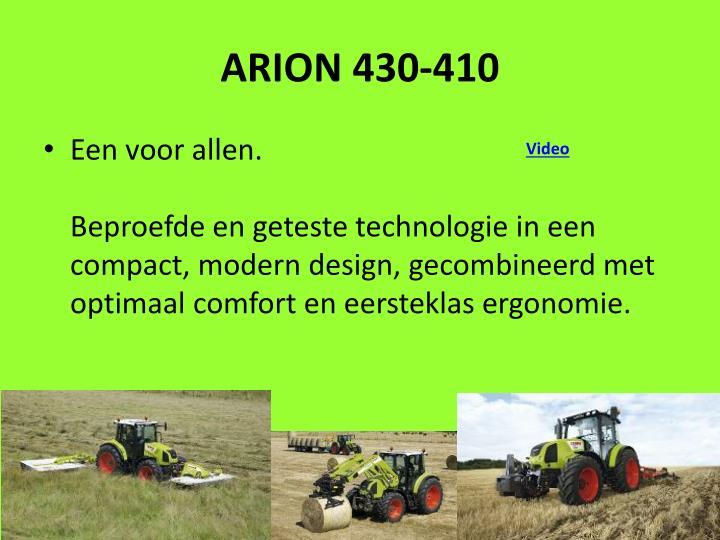 ARION 430-410