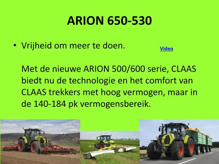ARION 650-530