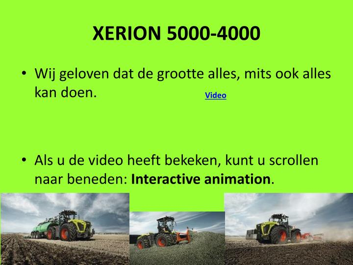 XERION 5000-4000