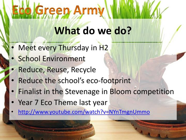 Eco Green Army