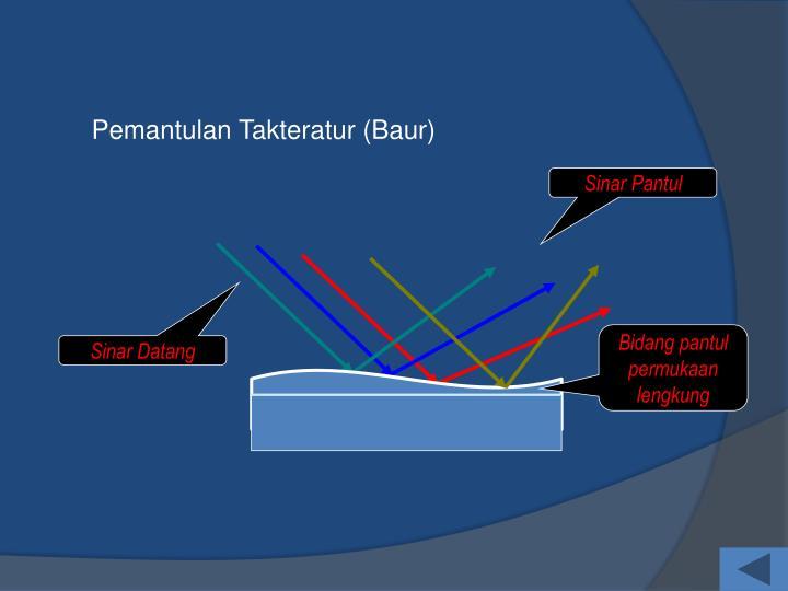 Pemantulan Takteratur (Baur)