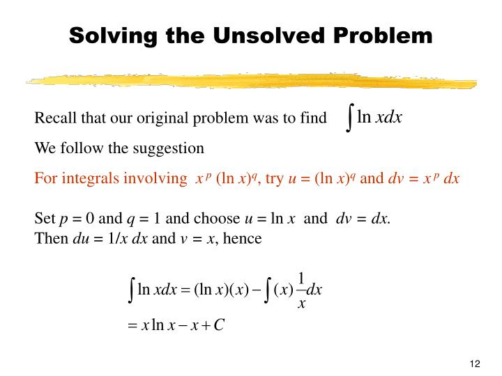 Solving the Unsolved Problem