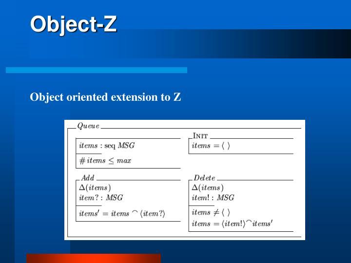 Object-Z