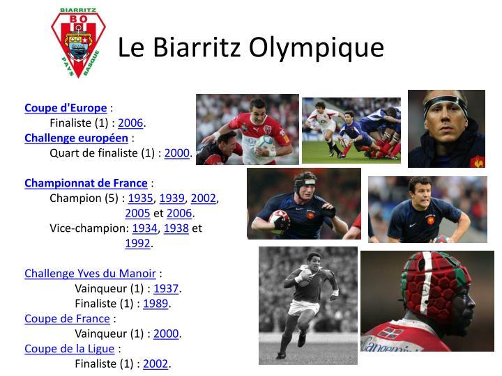 Le Biarritz Olympique