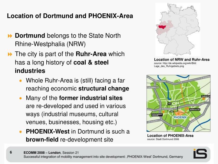 Location of PHOENIX-Area