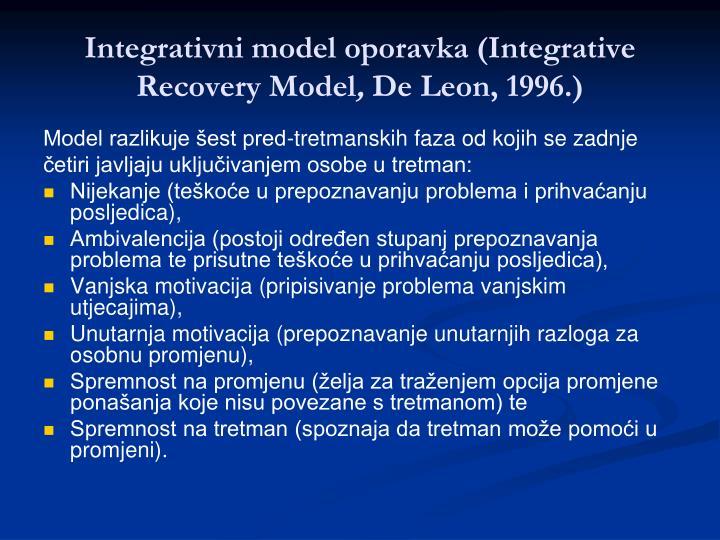 Integrativni model oporavka (