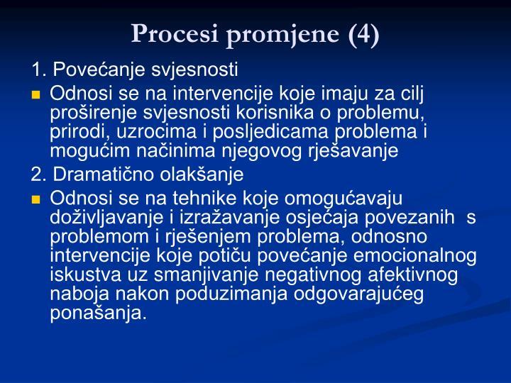 Procesi promjene (4)