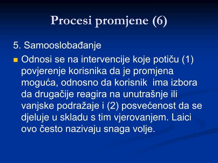 Procesi promjene (6)