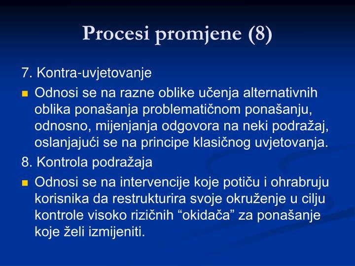 Procesi promjene (8)
