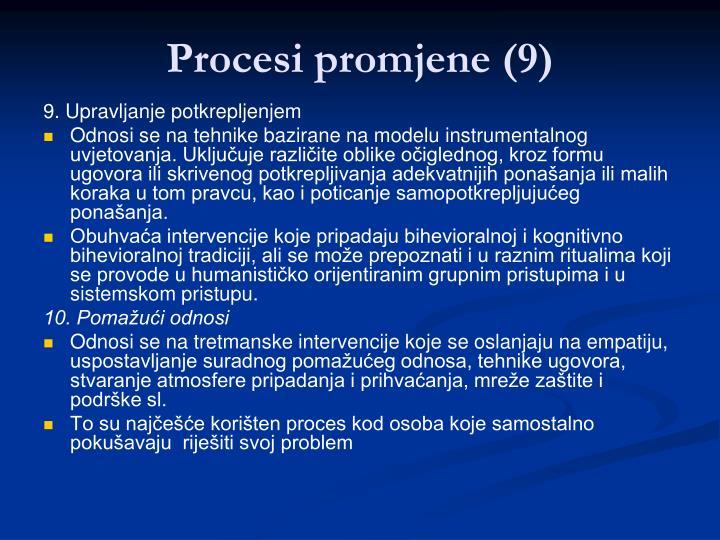Procesi promjene (9)