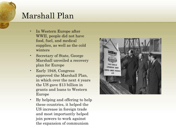 Ppt end of world war ii powerpoint presentation id 3824234 - The marshall plan was designed to ...