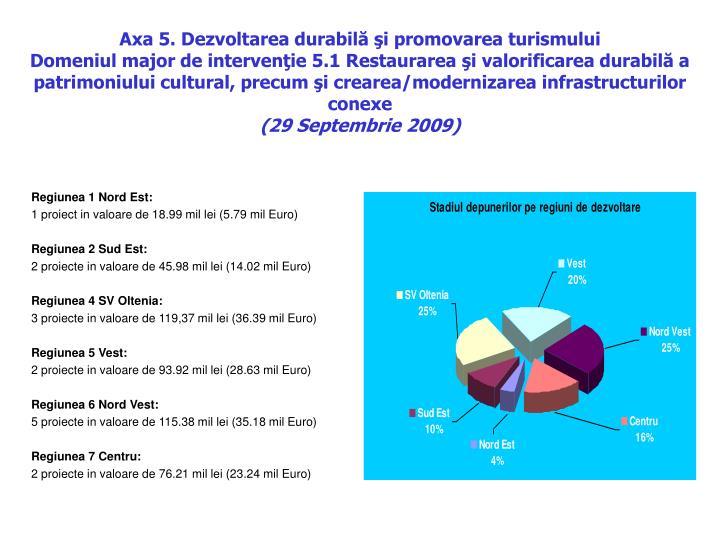 Axa 5. Dezvoltarea durabil