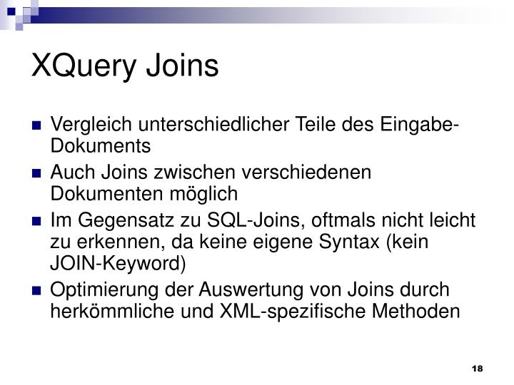 XQuery Joins