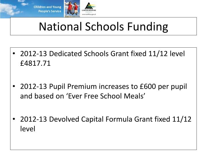 National Schools Funding