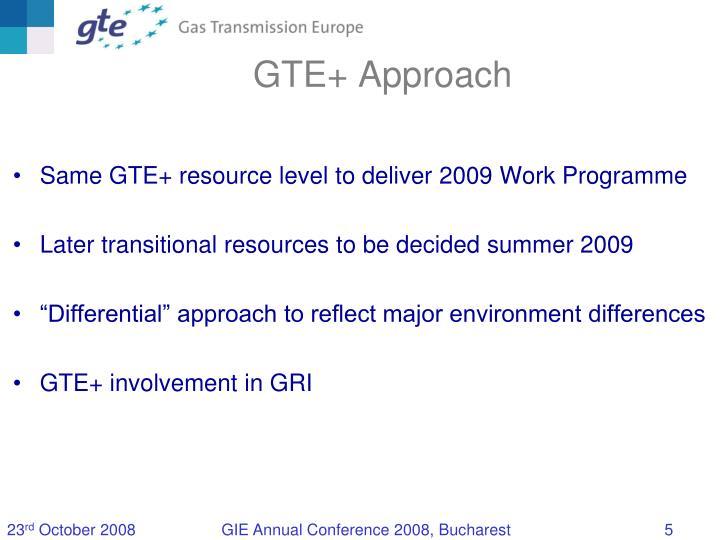 GTE+ Approach