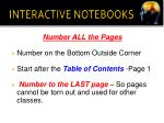 interactive notebooks11