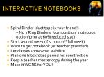 interactive notebooks2