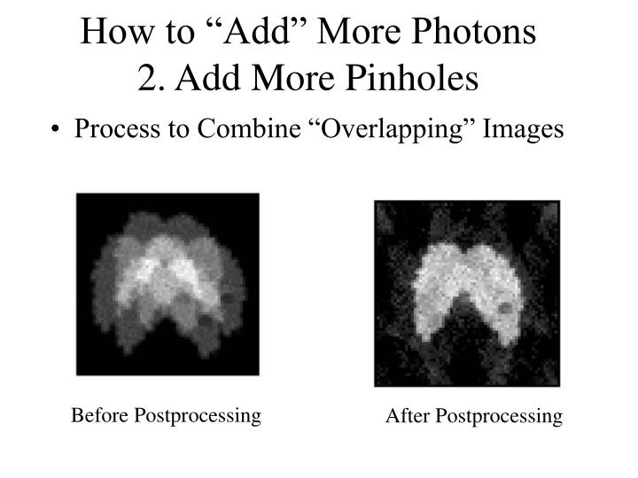 "How to ""Add"" More Photons"