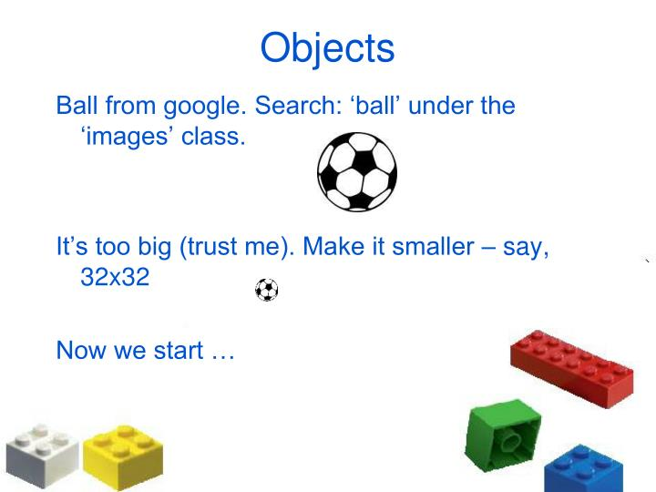 Ball from google. Search: 'ball' under the 'images' class.