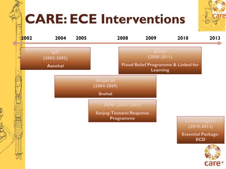 CARE: ECE Interventions