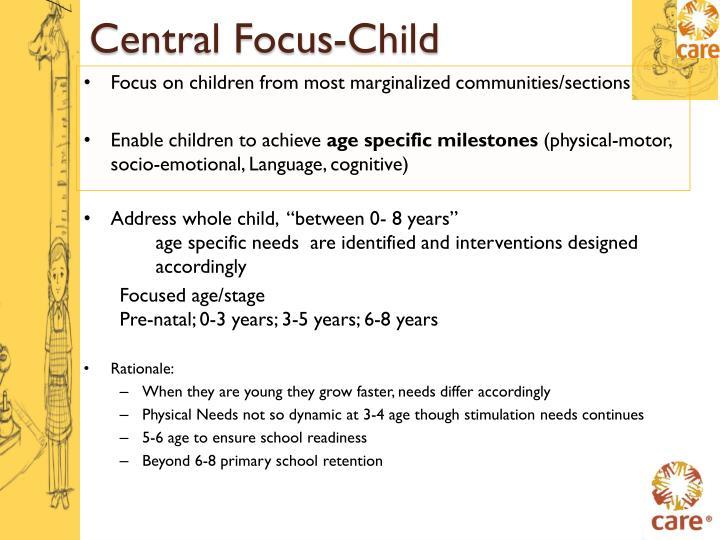 Central Focus-Child