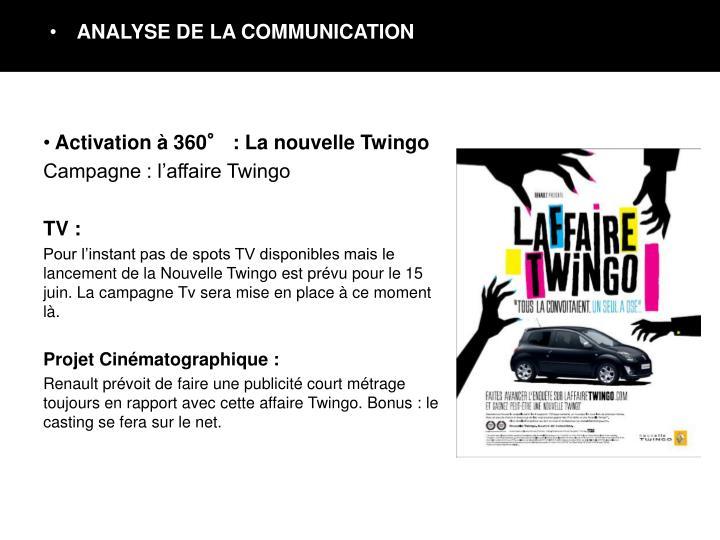 Activation à 360° : La nouvelle Twingo