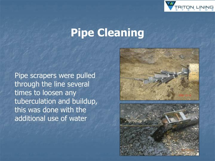 Pipe Cleaning