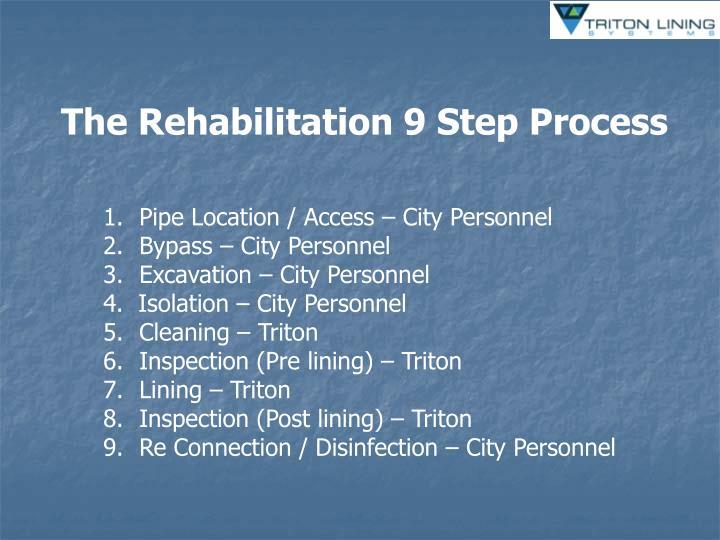The Rehabilitation 9 Step Process