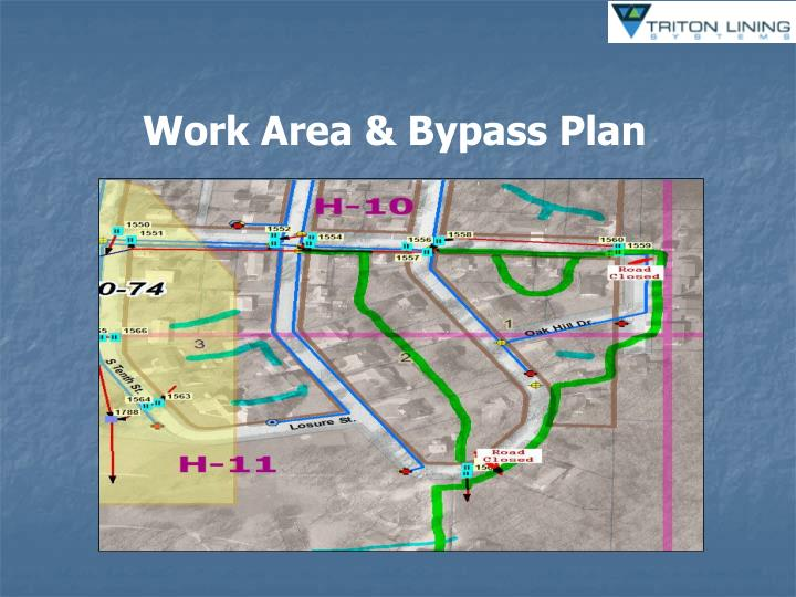 Work Area & Bypass Plan