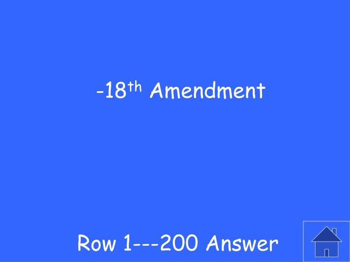 Row 1---200 Answer