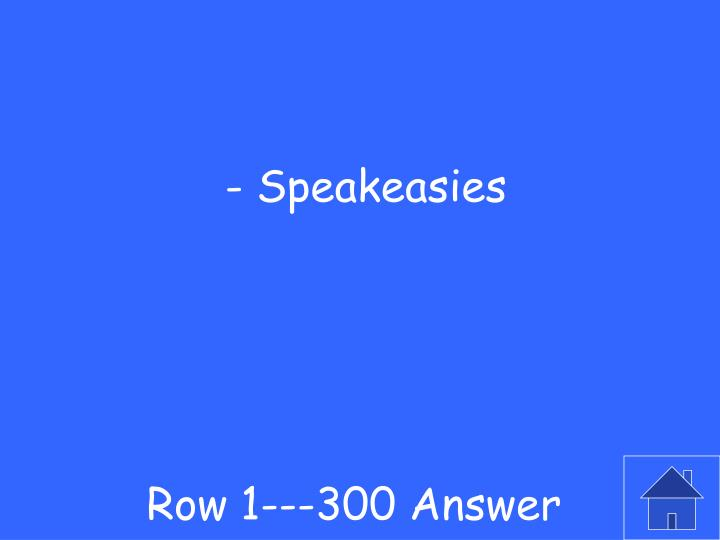 Row 1---300 Answer