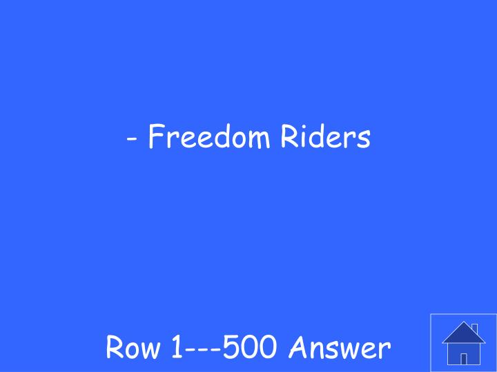 Row 1---500 Answer