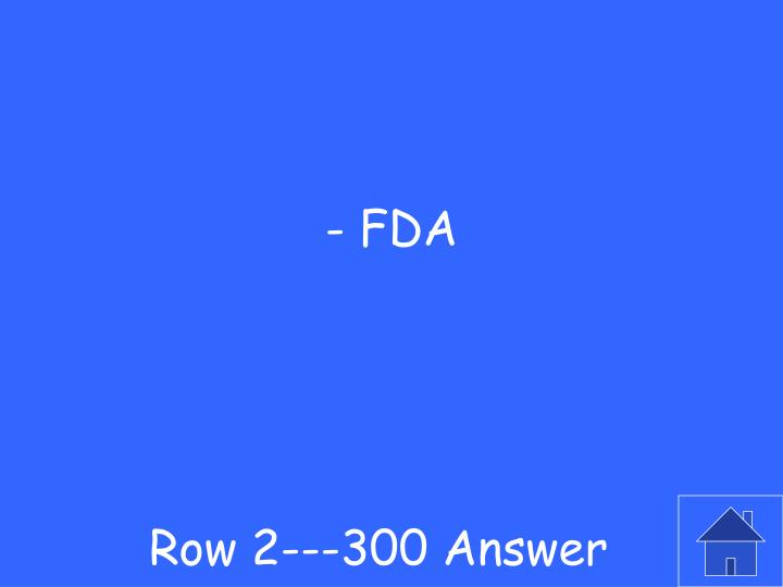 Row 2---300 Answer