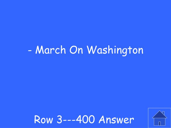 Row 3---400 Answer