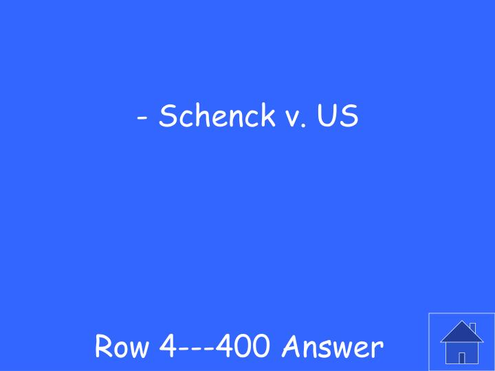 Row 4---400 Answer