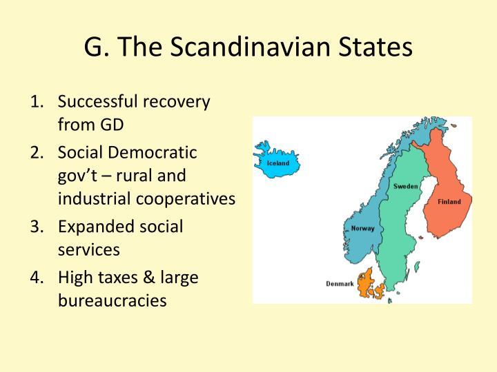 G. The Scandinavian States