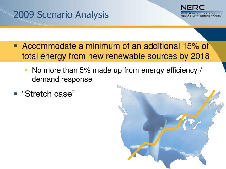2009 Scenario Analysis