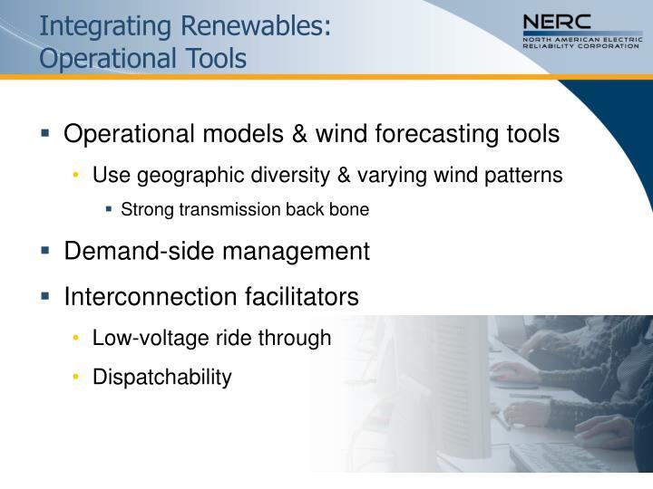 Integrating Renewables: