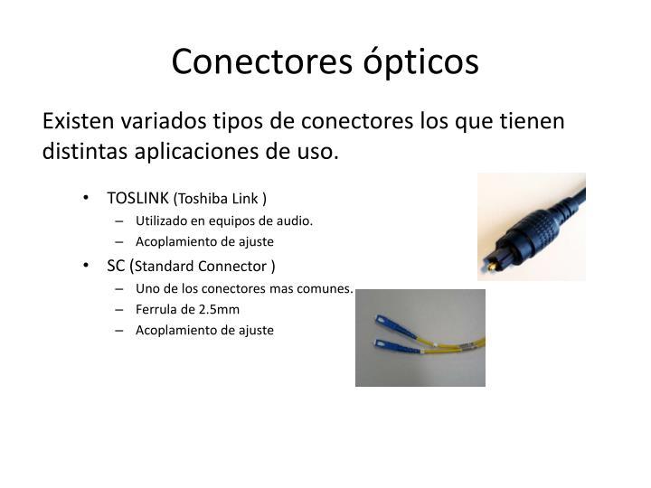 Conectores ópticos