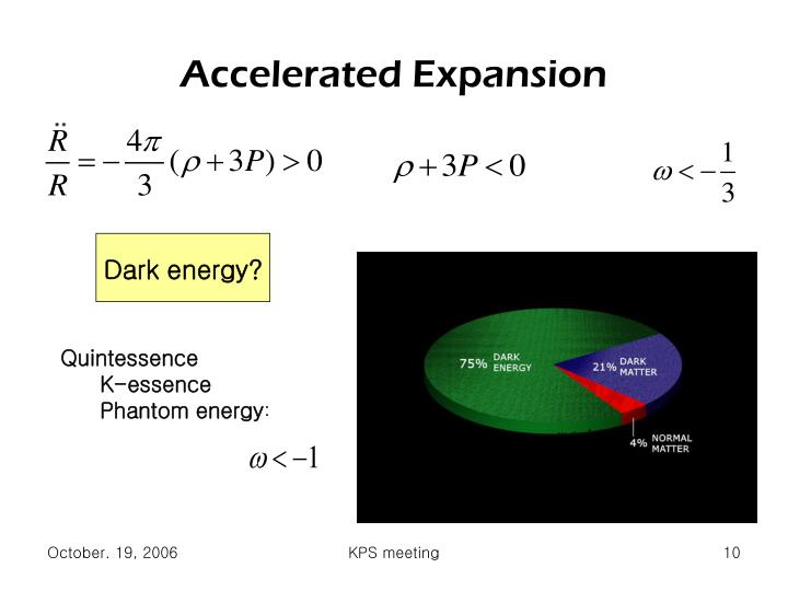 Accelerated Expansion