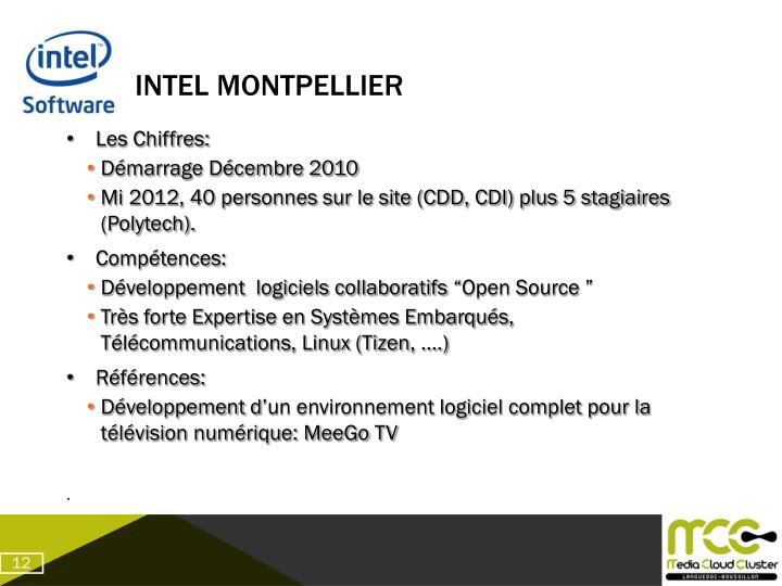 Intel Montpellier