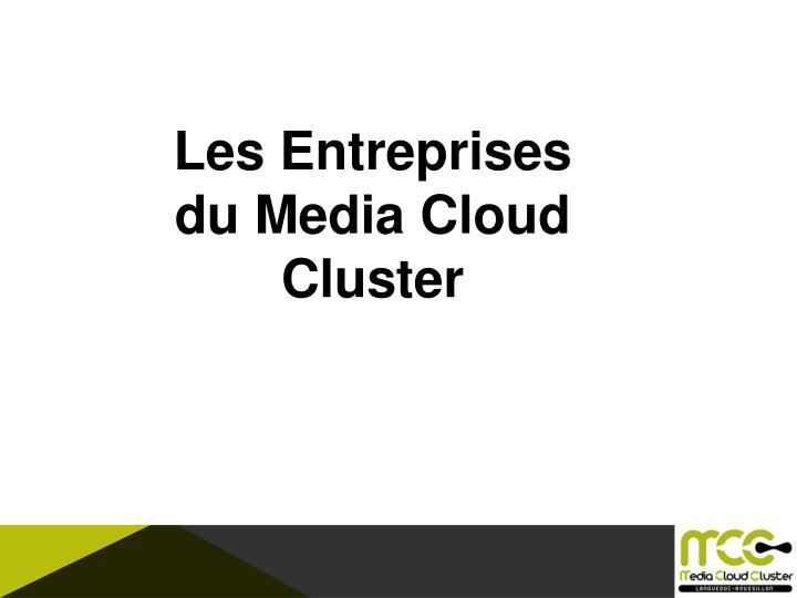 Les Entreprises du Media Cloud Cluster