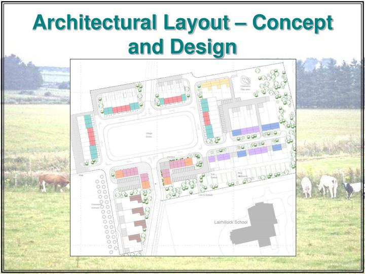 Architectural Layout – Concept and Design