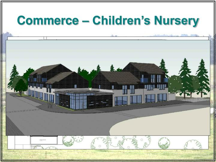 Commerce – Children's Nursery