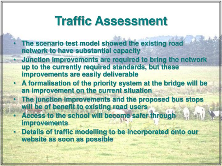 Traffic Assessment