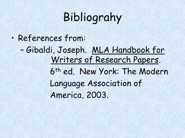 6th ed handbook mla papers research writer Get this from a library mla handbook for writers of research papers [joseph gibaldi modern language association of america] -- the mla handbook is published by the modern language association, the authority on mla documentation style.